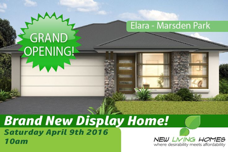 Brand new display home! http://www.newlivinghomes.com.au/elara-display-home-grand-opening/