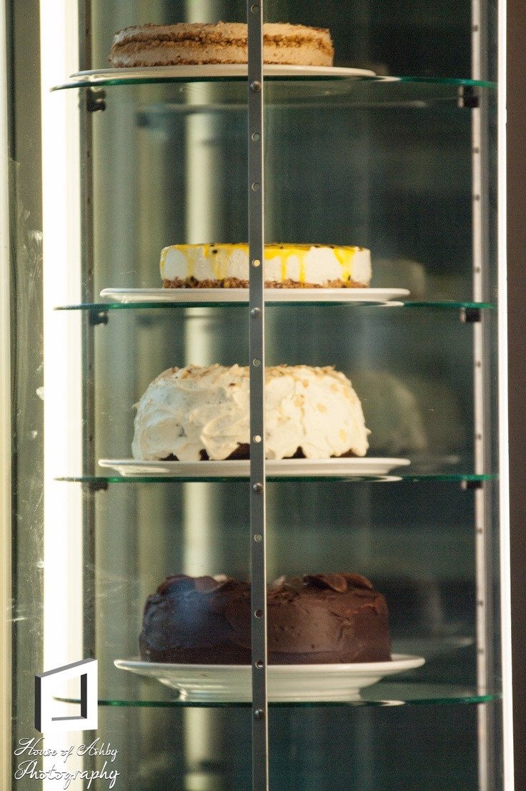 Delicious home-made cakes to choose from