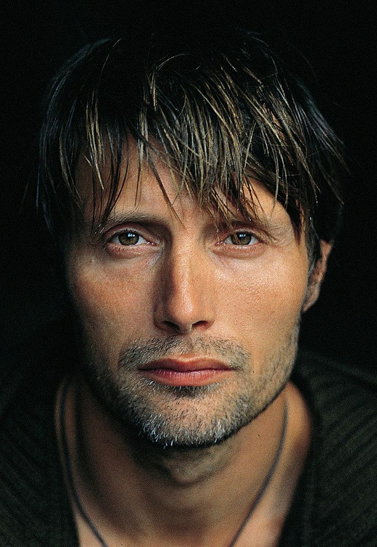 Mads Mikkelsen  . . .  Any space is good with him in it . .  mmmm   . . .