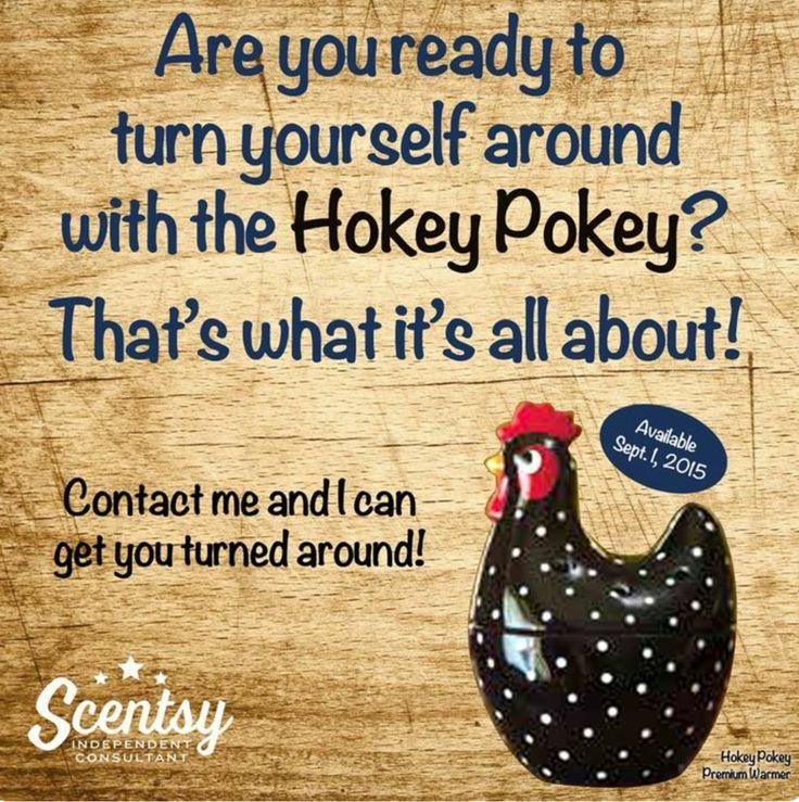 Hokey Pokey Warmer ~ Doing the hokey pokey well maybe you should new