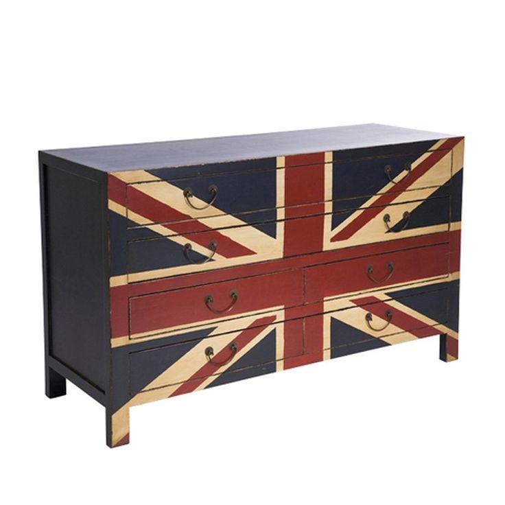 Union Jack dressoir