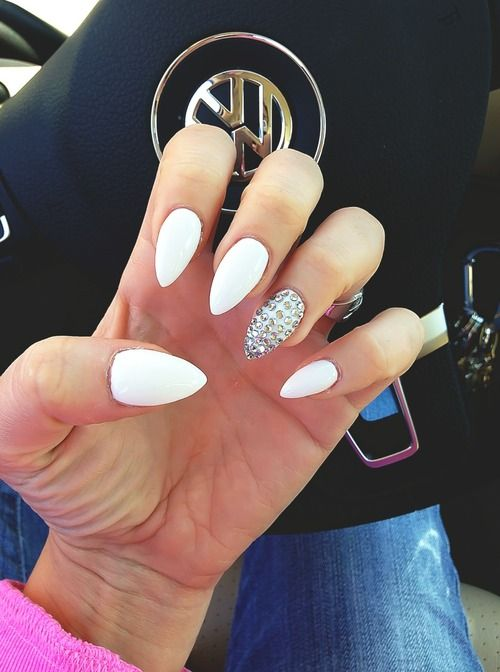 1000 Images About Nail Art On Pinterest Almond Nail Art