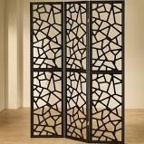 "Charlayne 70.25"" x 52"" Folding 3 Panel Room Divider World Menagerie"