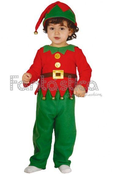 Disfraz para Bebé y Niño Elfo Navideño  82dee7bb172