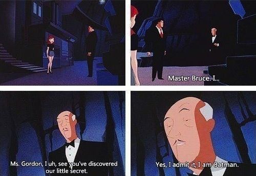 He's got a quick wit… | 21 Reasons We Should All Be More Like Alfred Pennyworth