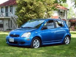 """Blue Toyota Echo from """"Psych."""" My DREAM CAR!!"""