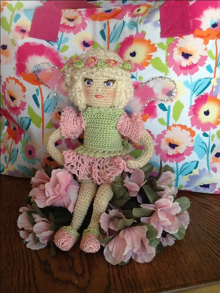 My latest Flower Fairy Her name is Twinkle