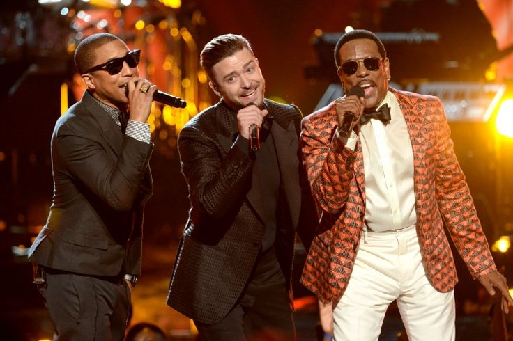 Pharrell Williams, Justin Timberlake And Charlie Wilson | GRAMMY.com: Charlie Wilson Gap, 2013 Betawards, Justin Timberlake, Night S 2013, Wilson Gap Band, Pharrell Williams, Wilson Sexy, Timberlake Pay