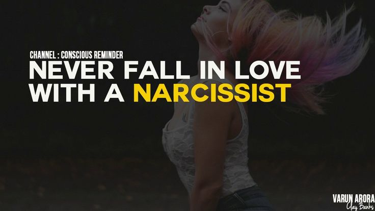falling in love with a narcissist