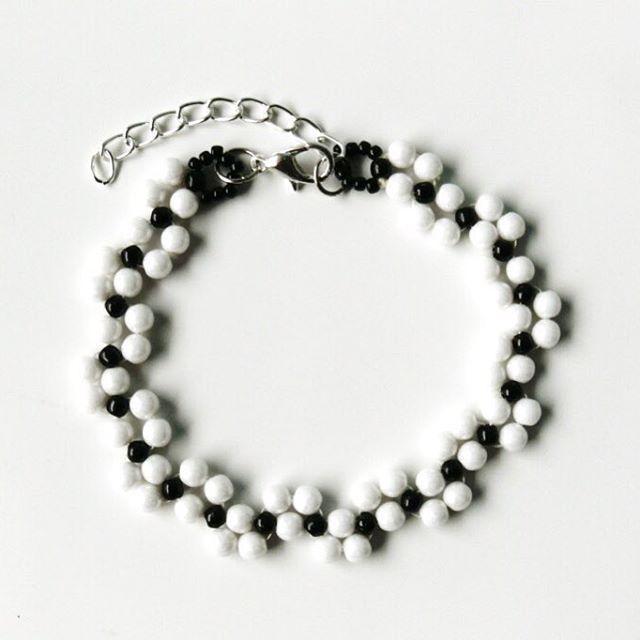 #mobihandmade #bracelet #beading #bransoletka #beadedbracelet