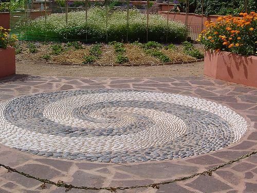 All sizes | Pebble Mosaic | Flickr - Photo Sharing!