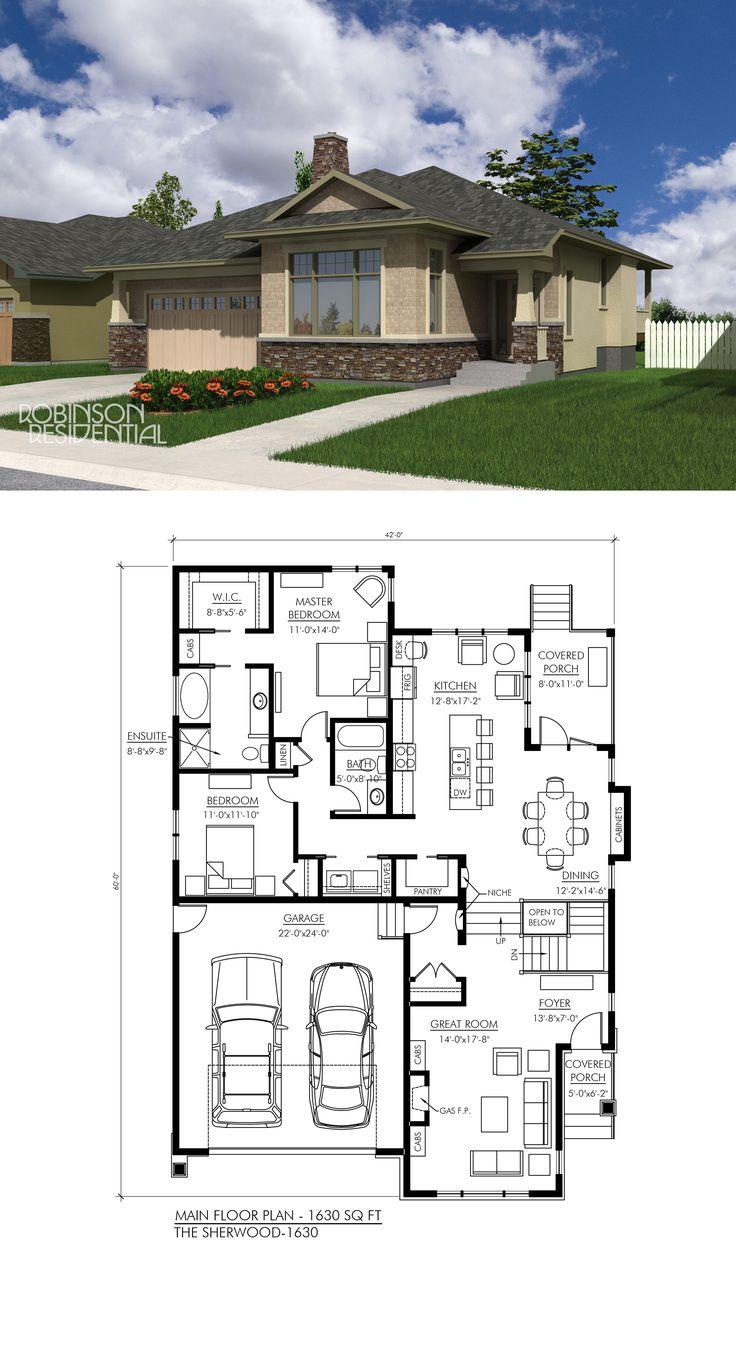 Craftsman House Design Features: 51 Best Craftsman Home Plans Images On Pinterest