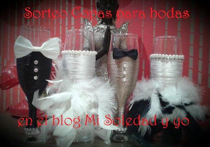 Mi Soledad y Yo: Copas para bodas