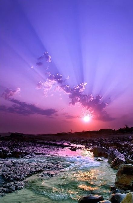 25+ best ideas about Purple sunset on Pinterest | Beautiful sky, Beach sunset photography and ...