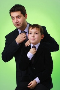 Hot to Encourage your son to be a gentleman