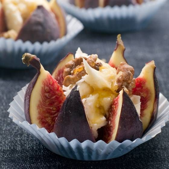 5 Fresh Fig and Cheese Recipes For Summer Snacking -pic Grilled Figs with Feta cheese