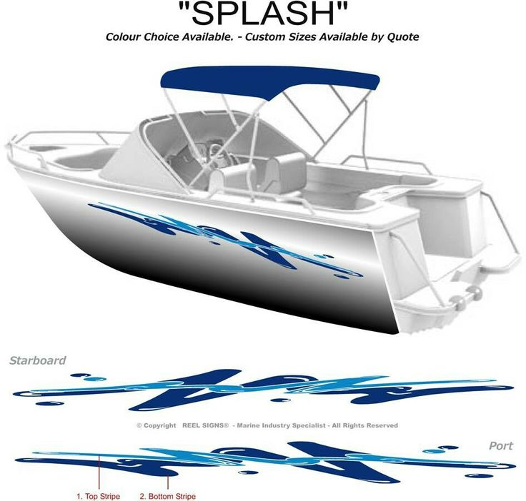 Best Catalina  Images On Pinterest - Boat decals and stripes   easy removal