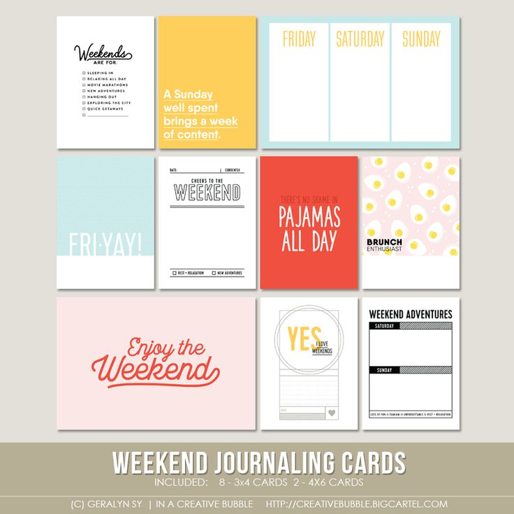 50+ best In a Creative Bubble journal cards we have images by ...
