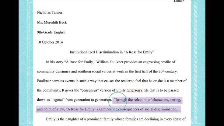 Essay informational