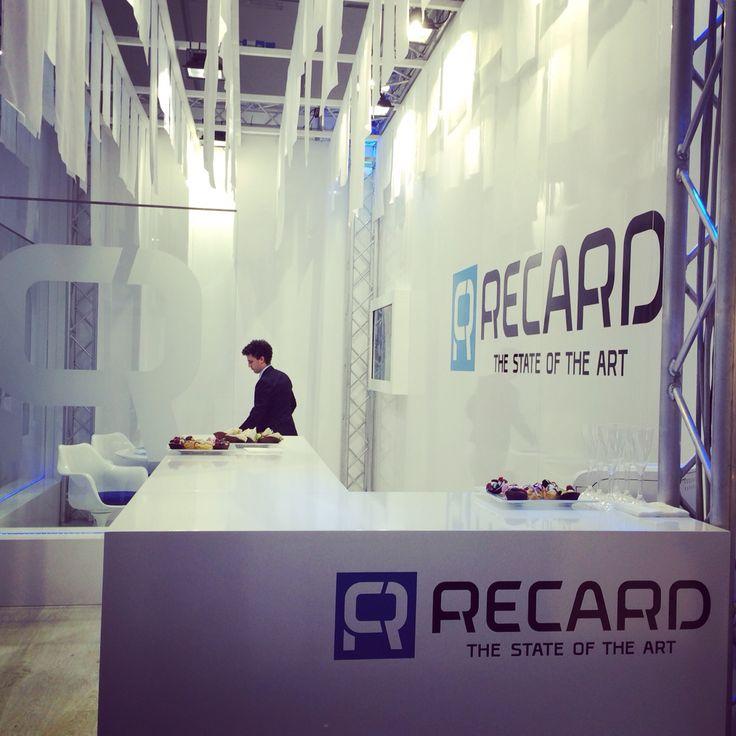 Stand Recard, 2015 | Project Domenico Raimondi @thesignlab, Project management, marketing MViva, Manufactures Allestand