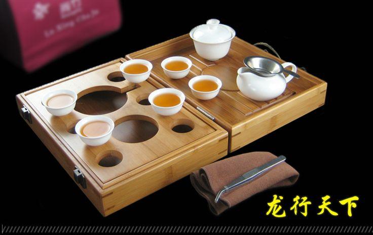 Hot moylor r trasporto libero viaggi insieme di tè di bambù vassoio del tè Set di kung fu tè portatile veicolo turismo all'aria aperta regalo in ceramica Packa in [Materiale] di bambù [13 pezzi dei componenti del prodotto]: scatola da tè * 1, gaiwan * 1, coppa fair * 1,da Caffè e tè set su AliExpress.com | Gruppo Alibaba