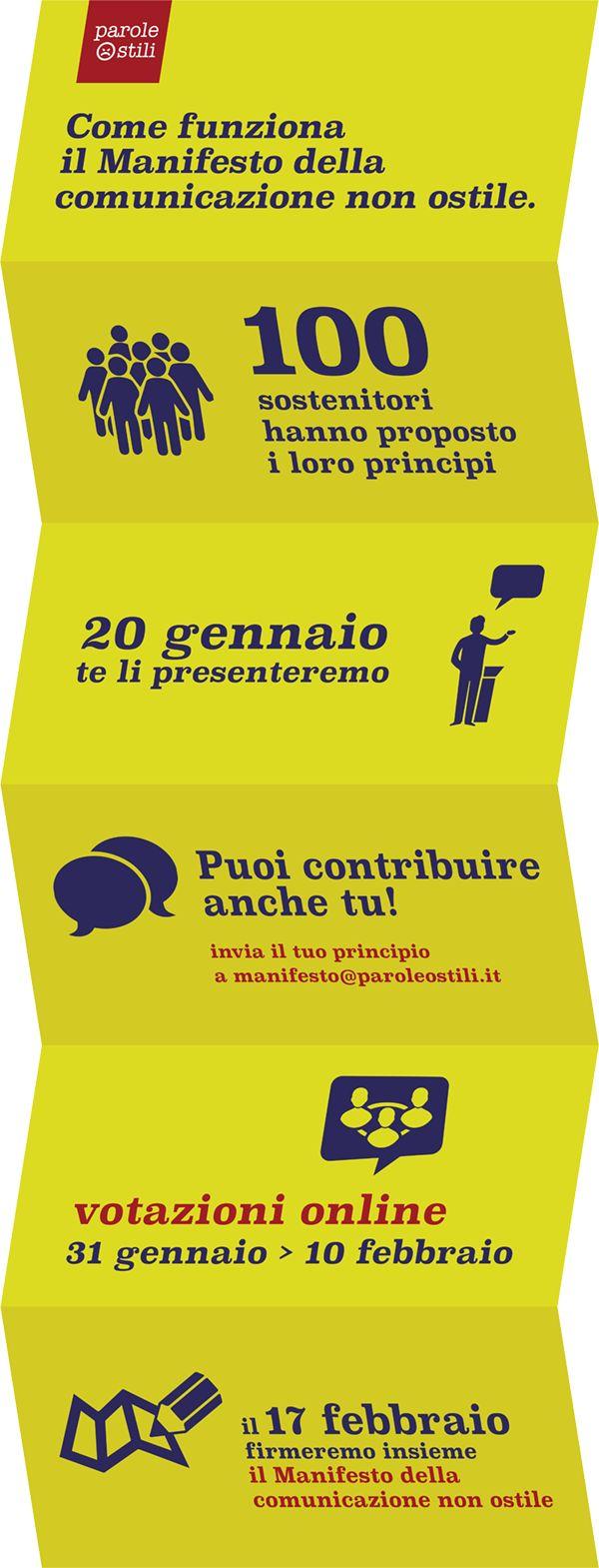 L'obiettivo del progetto Parole Ostili è ridare centralità al linguaggio, ripristinare i concetti base del rispetto degli interlocutori, soprattutto online.