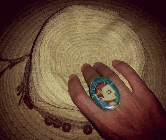 ..like the message..love my ArtePovera handmade ring!