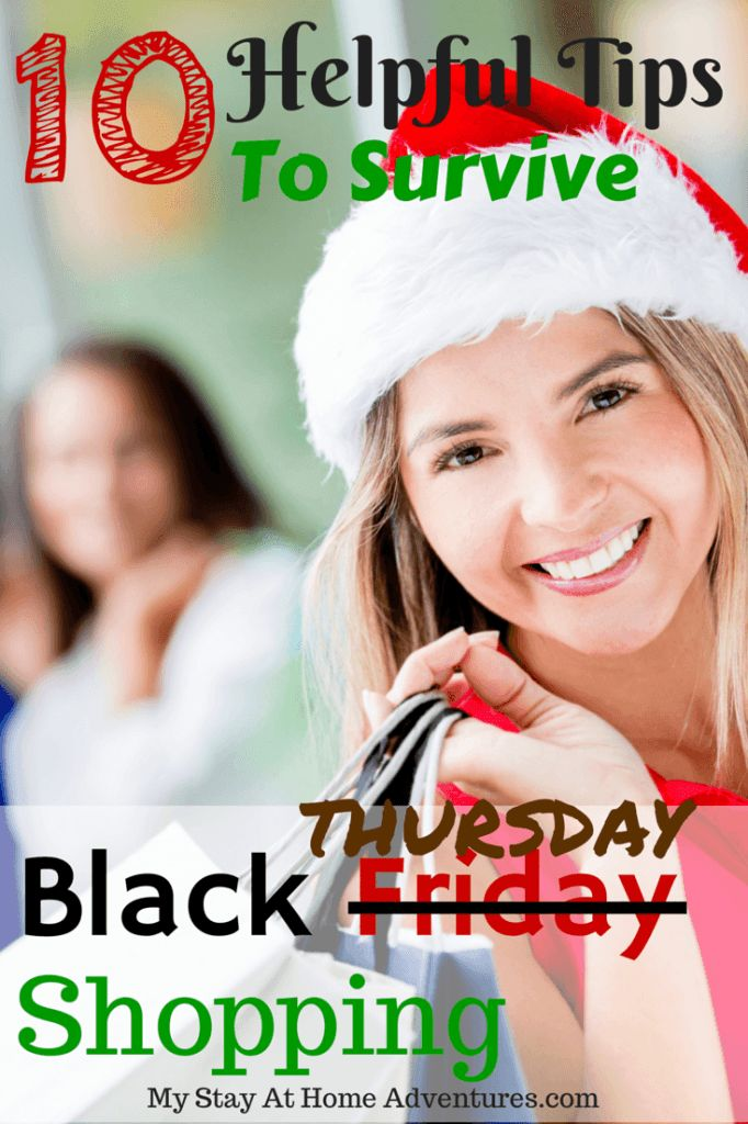 10 Helpful Tips To Survive Black Friday Shopping  Read about these helpful tips to survive the biggest shopping day of the year.  #BlackFriday #Deals #Shopping