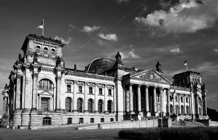 Reichstag B/W