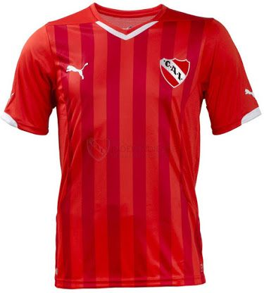 FlagWigs: New Puma Independiente Home Jersey Shirt Kit 2014 ...