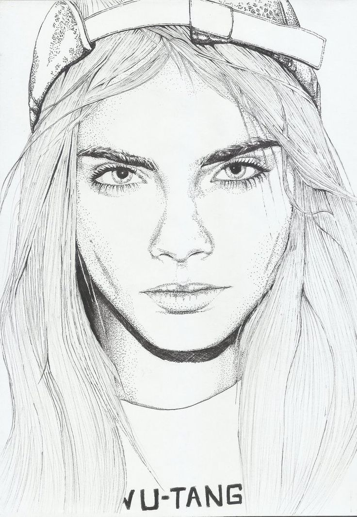 drawings tumblr hipster - Buscar con Google Isn't that Cara Delevigne?