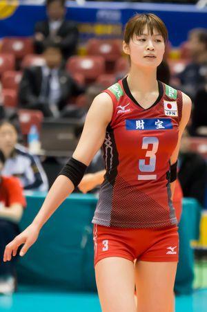 バレーボール日本代表、木村沙織選手。日本女子バレーの大黒柱。オリンピックでもサオリンスマイルが見たい!リオデジャネイロオリンピック・リオ五輪2016