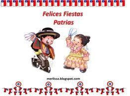 Fiestas Patrias is like independence day. They celebrate with cultural dancing…