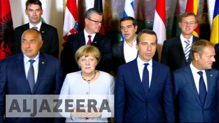 EU leaders tackle refugee crises in Vienna meeting