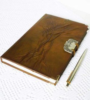 Leather Diary, Writing Leather Journal A5, Rustic Notebook, Travel Journal, Guest Book #graduationgift, #diary, #traveljournal, #leatherdiary #brownjournal, #writingjournal, #giftforher, #giftforhim, #guestbook, #journal, #A5, #leatherart, #leathergift, #leatherjournal,