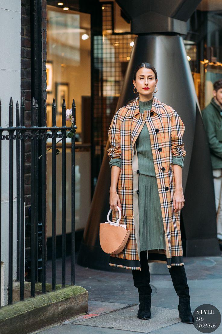 London FW 2018 Street Style: Julia Haghjoo