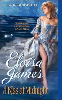 A Kiss at Midnight by Eloisa James. Audio book. Began 2/4/12. Finished 2/17/12. Thoroughly enjoyed this Cinderella retelling. It's the first general-market romance novel I've read in some time in which the author actually took the time to develop the relationship between the hero and heroine before they fell into bed together (first time was more than midway through the book). 4.25 stars.