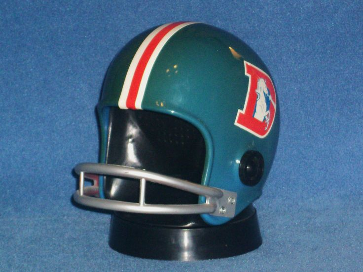 A pin of an item I sold awhile back. This is an antique dial radio designed to look like a football helmet. These were designed for each team in the NFL, the Denver Broncos radio is the only one I ever had. It got a lot of interest!
