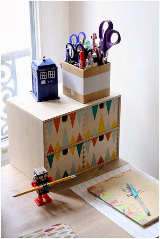 Transformar Ikea: Cajonera de madera MOPPE   Decoración