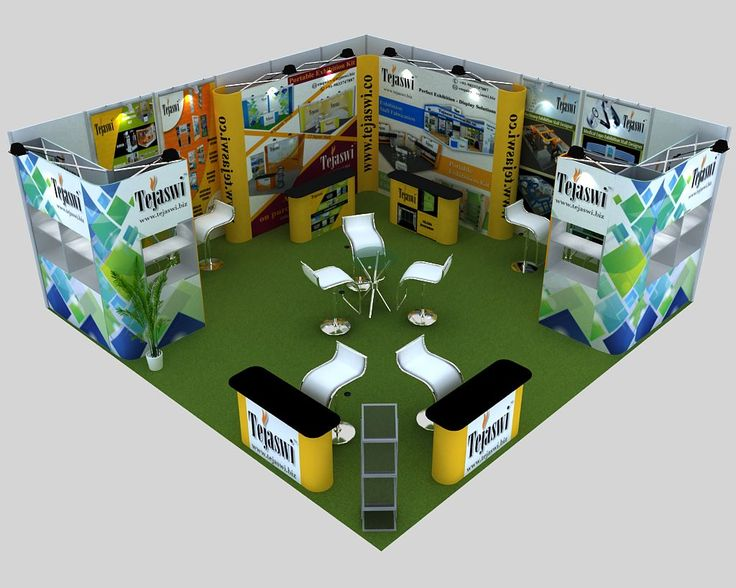 6x6 Portable Exhibition Stand