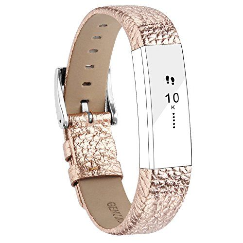 From 11.09:For Fitbit Alta Strap Leather Alta Hr Band Adjustable Replacement Bracelet Sport Straps For Fitbit Alta And Alta Hr Unisex Fitness Wristband