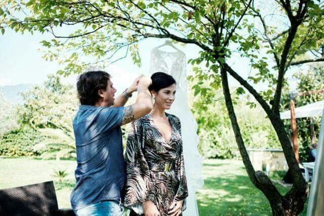 Federica Torti veste Mauro Franchi per le sue nozze!                                                Vestito|SS2016|by Mauro Franchi Info@maurofranchi.com