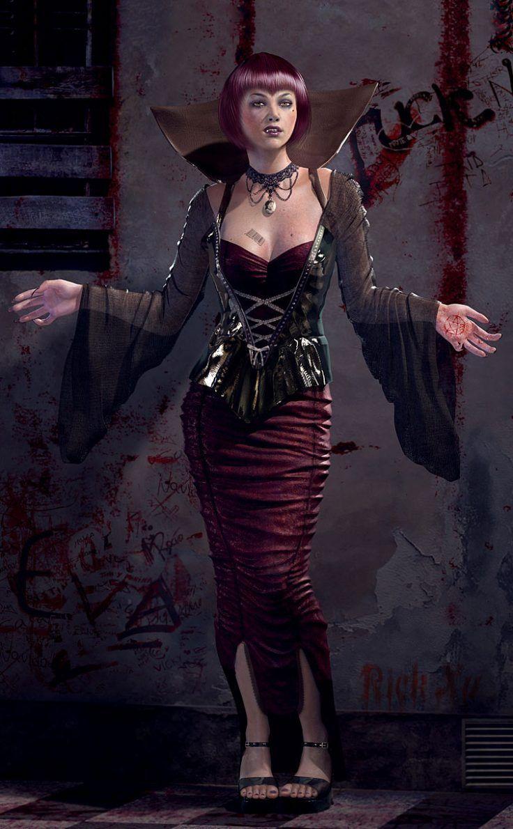 'bio Vampire Queen' By Rick Xu (xu Mingjun)