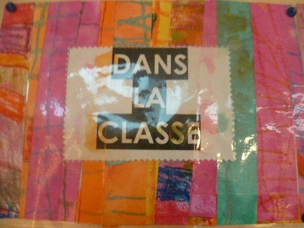 """Sur le modèle """"dans la cour de l'école"""" de C.Loupy :Un album """" dans la classe """"Chez blog de reinette."""