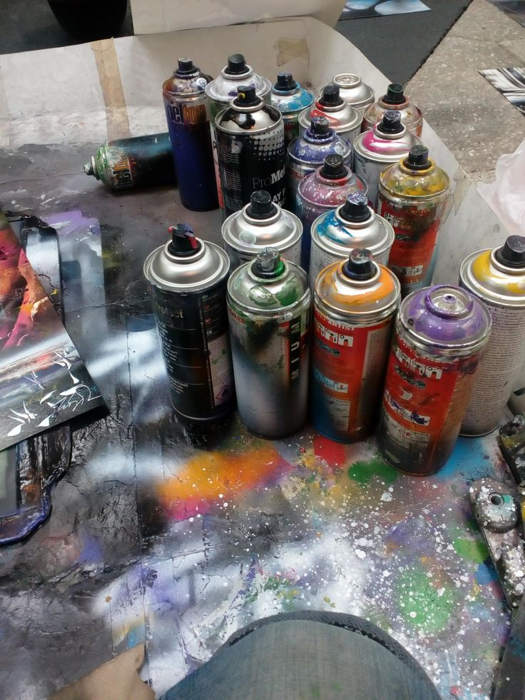 spray paint art lessons tutorial secrets mexico spray can workshops performance