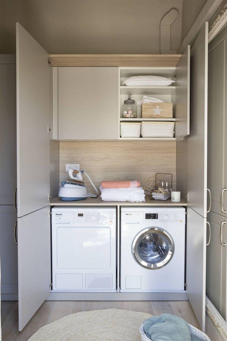 Baldas para tenerlo todo a mano casa nueva armario para lavadora muebles lavadora y mueble - Armario para lavadora ...