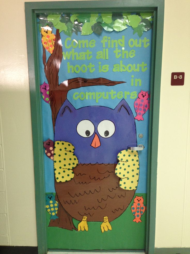 Owl Theme Classroom on Spring Library Bulletin Boards