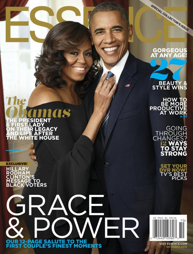 Yesterday, Essence magazine revealed its October cover featuring President Barack Obama and first lady Michelle Obama, and it's giving us all the feels. | We Need To Talk About This Photo Of Barack And Michelle Obama