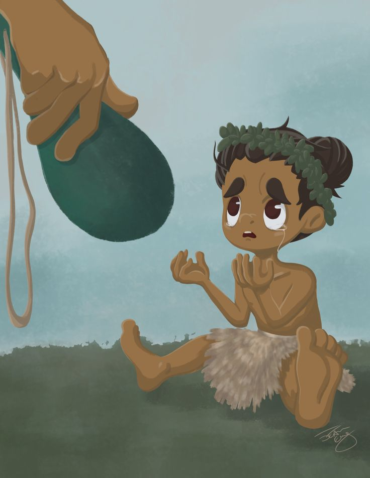 My mini Maori warrior for the Character Design Challenge!