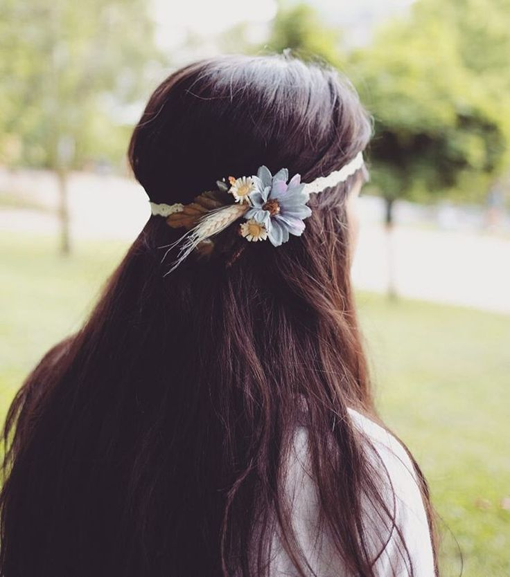 Boho Style Floral Hair Accessories